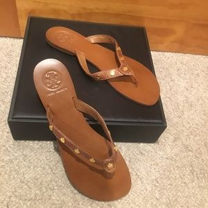 Tory Burch Ricki Leather Sandals